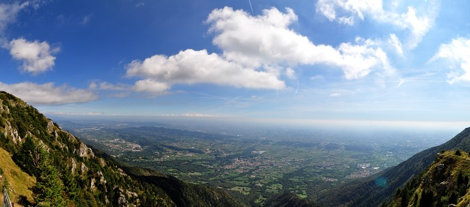 View from the top - Monte Grappa
