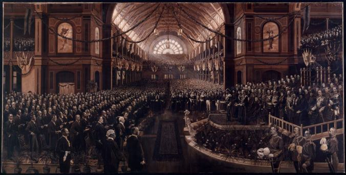 The opening of Commonwealth Parliament Charles Nuttall
